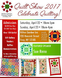 Quilt Show 2017 - Quilters United in Learning Together & Click HERE for a printable copy of the show flyer. Adamdwight.com