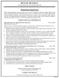 Store Manager Resume Sample Exclusive Resume Examples For Retail 100 Store Manager Example 7