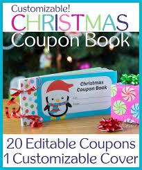 Free Print Coupons Free Printable Christmas Coupon Book For Kids Organizing Homelife