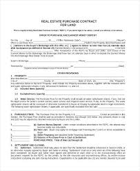Real Estate Purchase Contract Addendum Best Of Sample Land Form 8 ...
