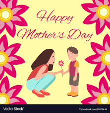 Happy Mothers Day Poster Design Happy Mothers Day Poster