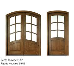 quick ship wood entrance door