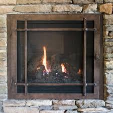 gas fireplace doors ideas