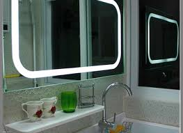 12 Led Mirrors For Bathrooms Plaza Dimmable Lighted Mirror By