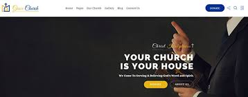 Templates For Websites New 28 Church Website Templates For Religious Websites