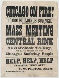 Image result for 1871 Great Chicago Fire