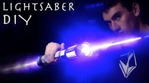 make a double bladed lightsaber real burning laser lightsaber