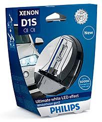 Ксеноновая <b>лампа</b> D1S <b>Philips WhiteVision</b> gen2 85415WHV2S1