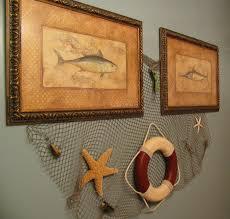 fish wall decor for bathroom decor