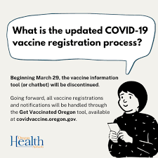 Based on the data collected, the federal food and drug administration authorized three different vaccines for emergency use in the united states: Or Health Authority On Twitter Starting Mar 29 The Vaccine Info Tool Or Chatbot That S Helped People Schedule Covid19 Vaccine Appts At Oregoncc Others Will Be Discontinued All Vaccine Registrations