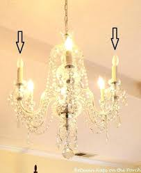 idea candle covers for chandeliers or resin candle covers and silk wrapped bulbs for the bedroom