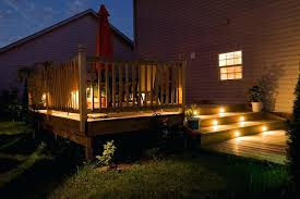 outdoor house lights steps with on the riser portion of staircase menards