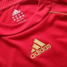 เสื้อทีมชาติสเปนชุดเเชมป์ยูโร2008เกรดเอ  ไซร์XLอก42ตำหนิแค่รอยจางๆหลังเสื้อเฟคเบอร์ฟลูปิดก็สวย..ตัวเสื้อสภาพดี ราคา  200รวมส่ง(แถมเสื้อสเปนสีเหลืองปีเดียวกันไซร์เดียวกันสภาพตำหนิค่อนข้างพอควรเอาใว้ใส่ทำงานใด้)...  - เสื้อกีฬาเก่าใหม่ถูกๆ ของแท้ ของเกรด มี ...
