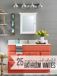 bathroom cabinets colors. 25 Inspiring And Colorful Bathroom Vanities Via @tipsholic #bathroom #vanity #colorful # Cabinets Colors D