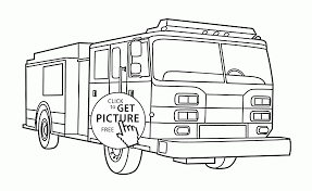Small Picture Rescue Fire Engine coloring page for kids transportation coloring