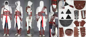 Assassins Creed Costume Pattern Interesting Cool Assassins Creed Ii 48 Altair Conner Kenway Casual Cosplay Any