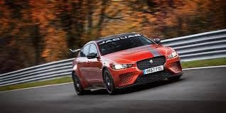 2019 2020 jaguar xe sv project 8 sets new nurbugring front view