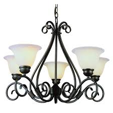 somerset collection 5 light bronze chandelier musethecollective