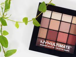 1 nyx ultimate warm neutrals shadow palette
