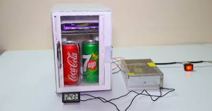Diy Mini Vending Machine Enchanting DIY Portable Peltier Mini Refrigirator Sia Magazine