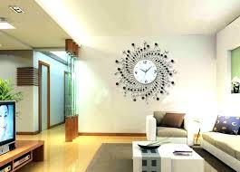 huge wall clock large modern clocks crystal ideas metal australia