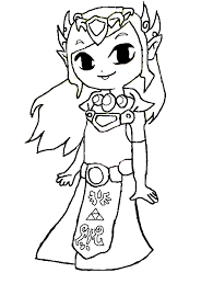 Small Picture Zelda coloring pages toon zelda ColoringStar