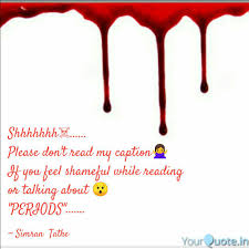 Best Menstruation Quotes Status Shayari Poetry Thoughts Yourquote