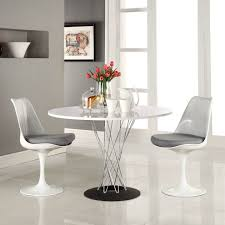 white round table. 15 White Round Table Design Ideas For Extravagant Look Of Your DIning Room
