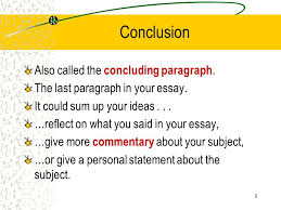 the elements of an excellent essay title introduction thesis  8 8 conclusion