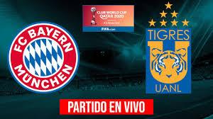 BAYERN MUNICH vs TIGRES UANL EN VIVO - FINAL MUNDIAL DE CLUBES 2020 -  YouTube