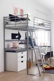 Stunning Adult Loft Bed Frame Metal Full Size Ideas Table