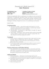 professional skills to develop list presentation skills resume example
