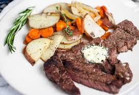 The chuck tender is the muscle that runs along the upper dorsal side of the ridge of the blade bone. Grilled Chuck Steak With Compound Garlic Butter Sunday Supper Movement