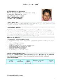 Experienced Resume Formats Months Experience C Developer Format Doc