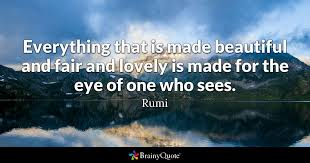 Rumi Beauty Quotes