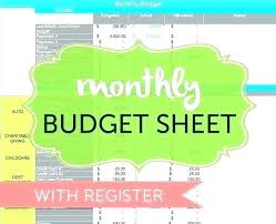 Monthly Expense Tracker Excel Home Finance Excel Template