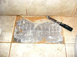 removing ceramic floor tile s dhesive old adhesive how to remove from concrete do i