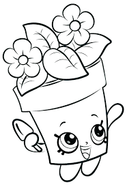 Shopkins Coloring Pages Cake Printable Coloring Pages Season 4 Cake