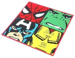superhero rug marvel r area comic bedroom large big lots rugs style memory foam superhero rug