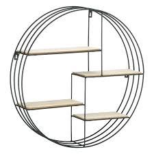 half circle shelf