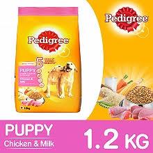Pedigree Dog Food Puppy Chicken Milk 1 2 Kg Dogspot