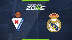 2019-20 Spanish Primera – Eibar vs Real Madrid Preview ...