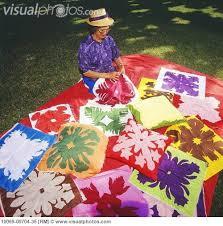 Best 25+ Hawaiian quilt patterns ideas on Pinterest | Hawaiian ... & free hawaiian quilt patterns to download | Senior woman sews Hawaiian quilts  on lawn, beautiful Adamdwight.com