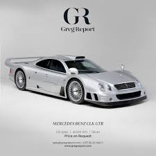 In 2002, the clk gtr roadster was built as a special model, after 26 normal clk gtrs were produced. Mercedes Benz Clk Gtr Greg Report