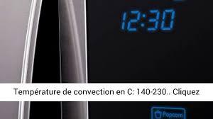 AVIS - Sharp R-982STWE - Micro-ondes combiné très grande capacité 42 litres  - Finition Inox - YouTube