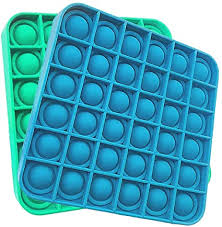 4.4 out of 5 stars. Amazon Com Pop It Fidget Toy 2 Pack Push Pop Bubble Sensory Toys For Stress Relief Pecial Needs Adult And Child Games Square Blue And Green Toys Games