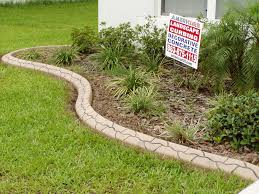 Image of: Landscape Curbing Patterns