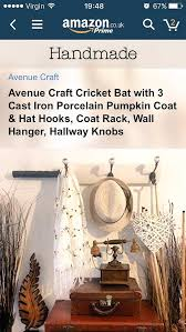 Coat Rack Black Friday 100 best Cricket Bat Cast Iron Coat Hooks Blackboards Note Books 36