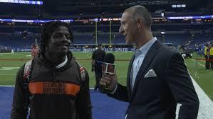 D'Ernest Johnson Postgame Interview vs. Colts