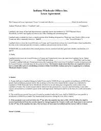 Office Rental Agreement Template Office Lease Agreement Template Templates 102190 Resume